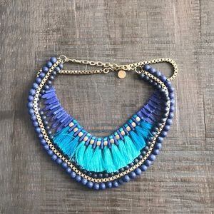 Stella and Dot Tresse necklace.